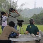 賞鳥紀錄照片