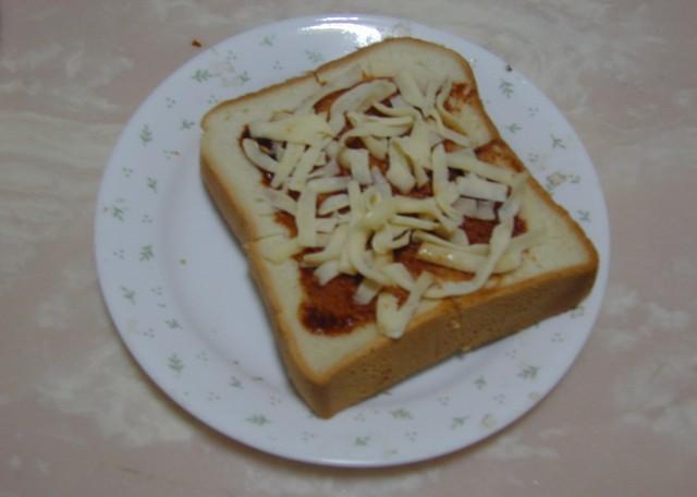 吐司披薩04