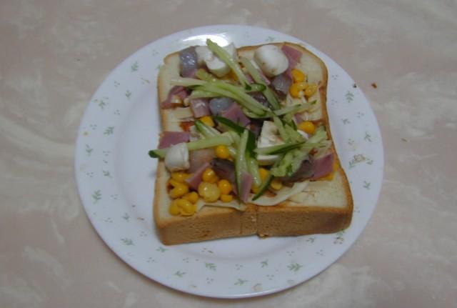 吐司披薩05