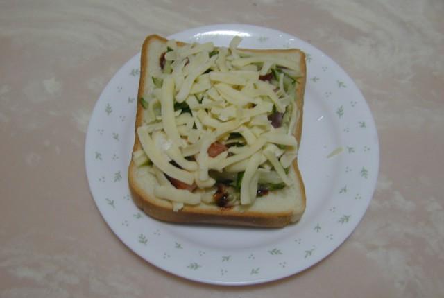 吐司披薩06