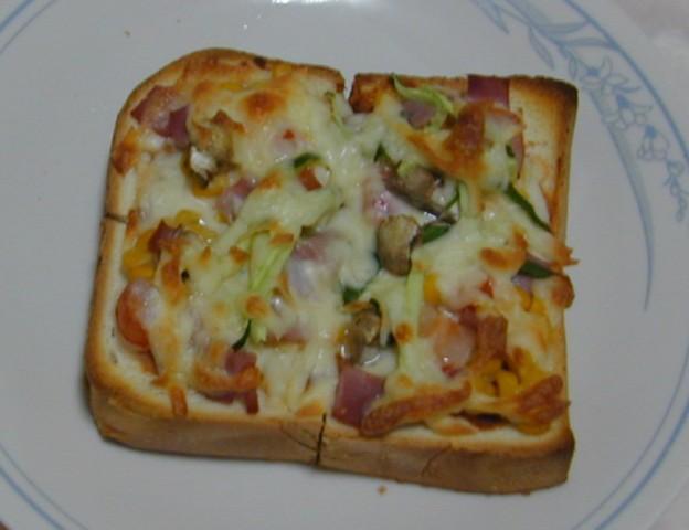 吐司披薩10