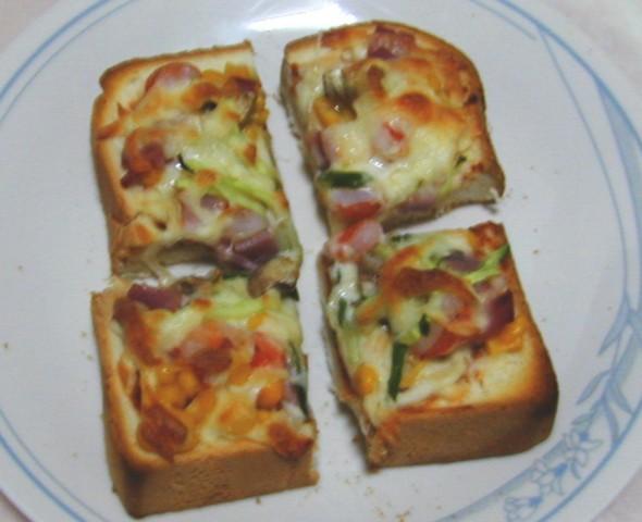 吐司披薩13