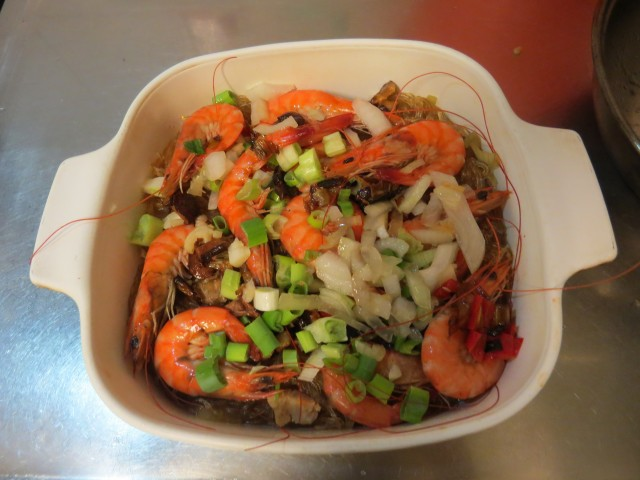 鮮蝦冬粉煲11