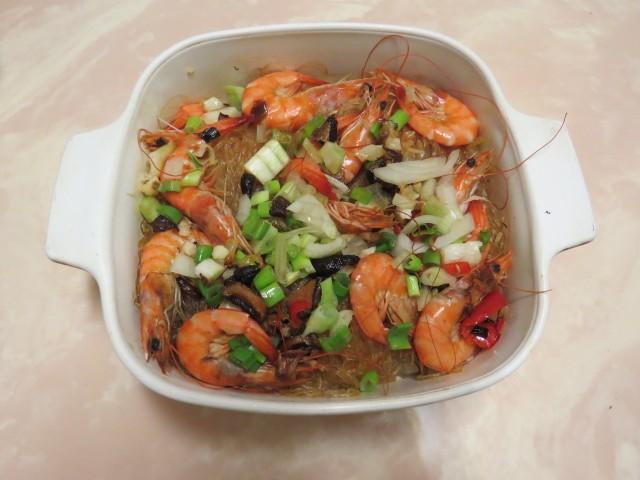 鮮蝦冬粉煲12