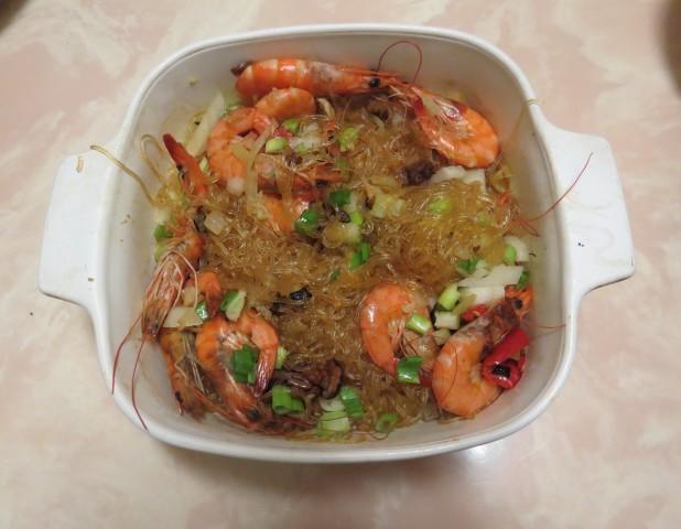 鮮蝦冬粉煲13