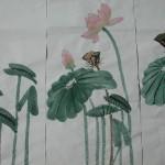 荷花–國畫 (或稱為蓮花) East Indian Lotus