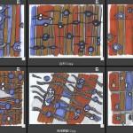 木材顯微構造創意圖騰(2)-洪煜程