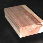 徑切木紋 Radial cut figure