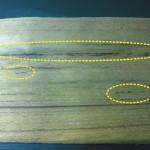 油斑(脂斑) oil streak